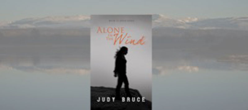 Alone in the Wind, Author Judy Bruce