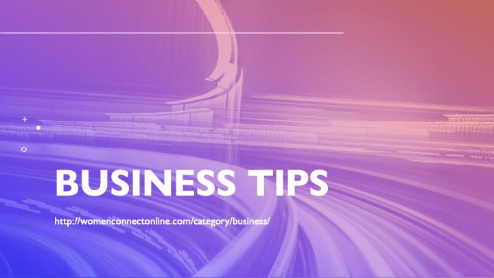 Business-TipsWomenConnectOnline