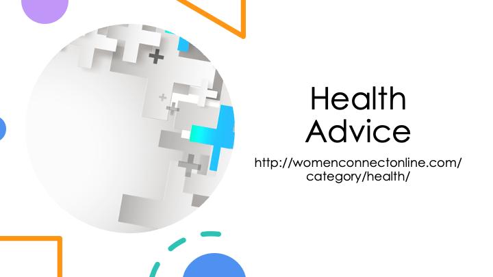 Health-Advice-WomenConnectOnline