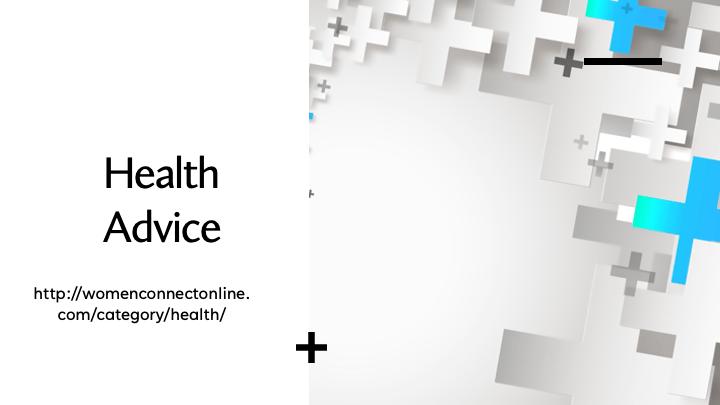 HealthAdvice-Women Connect Online