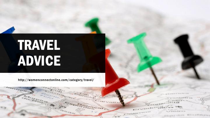 Travel Advice Women Connect Online
