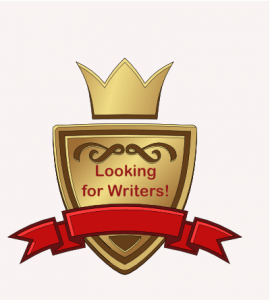 Looking for Contributing Writers